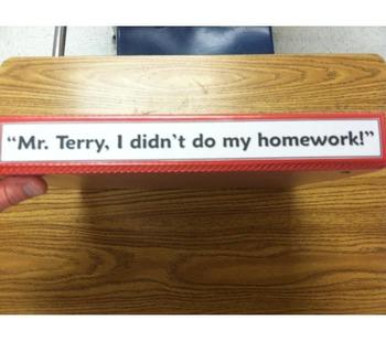 Homework Accountability Binder