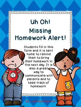Homework Alert!