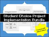 Homework Alternative: Student Choice Project Implementatio