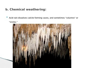 Homework Answers for Weathering and Erosion Lesson 15