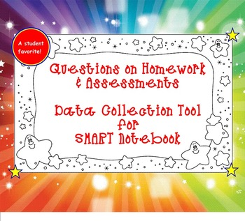 Homework Data Collection SMART Board Tool
