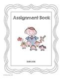 Homework Assignment Book