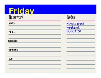 Homework Assignment Flipchart