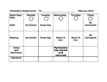 Homework Assignment Pages