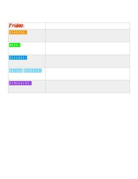 Homework Assignment Sheet