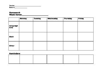 Homework Assignment Template