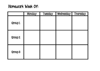 Homework Assignment Tracking