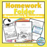 Homework Binder Covers