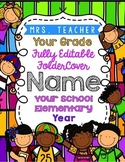 Homework, Binder, Folder or Notebook Covers