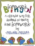 Homework Bingo! A Creative Way for Students to Do Homework