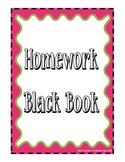 Homework Black Book