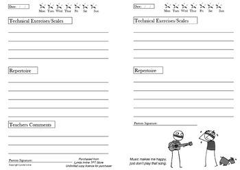 Homework Book Pg 16 with artwork