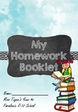 Homework Booklet