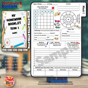 Homework Booklets Yr 5 - 6 (40 Weeks)