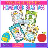 Homework Brag Tags