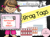 Homework Brag Tags