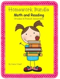 Homework Bundle - Mathematics and Reading - Grade 3 French Immersion