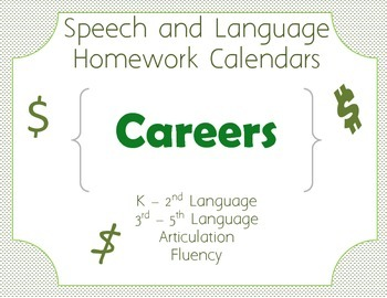 Homework Calendar - Careers