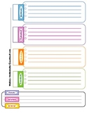 Homework Calendar Intermediate Grades