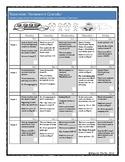 November Homework Calendar for PreK, K, 1st and 2nd Grades!