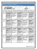Homework Calendar October for PreK, K, and 1st Grades