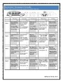 Homework Calendar September for PreK, K, and 1st Grades