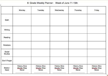 homework calendar template by team z teachers pay teachers