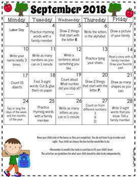 Homework Calendars 2017 2018 {Editable}