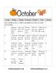 Homework Calendars for 2016-2017