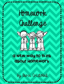 Homework Challenge: a new way to think about homework