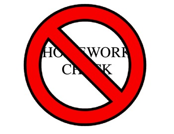 Homework Check Posters - Clip Art