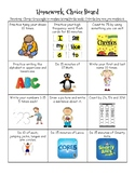 Homework Choice Board (Medium)