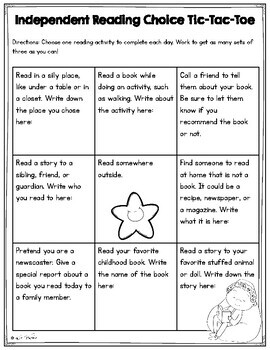 Homework Choice Boards - 2nd Grade, 3rd Grade, 4th Grade, 5th Grade