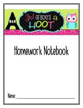 Homework-- Choice Notebook Cover