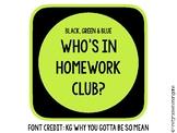 Homework Club Kit
