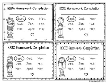 Homework Club Awards