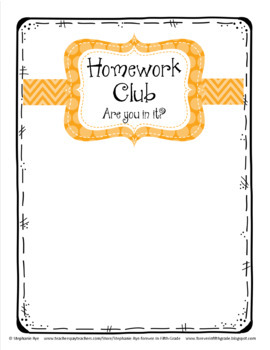 Homework Club Board Set