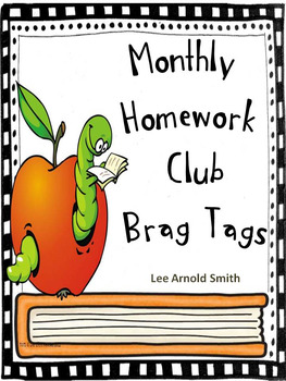 Homework Club Brag Tags