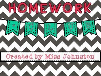 Homework Club: Motivating Students