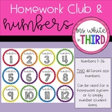 Homework Club & Numbers for Students