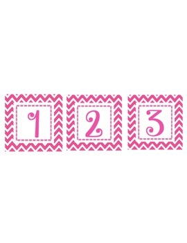 Homework Club Pink Chevron