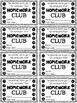 Homework Club Punch Cards