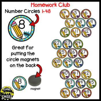 Homework Club ~ Super Hero Theme