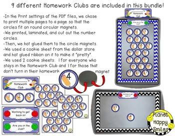 Homework Club ~ Chevron Print Bundle