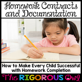 Homework Contracts and Intervention