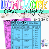 Homework Cover Pages