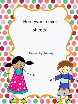 Homework Cover Sheet!