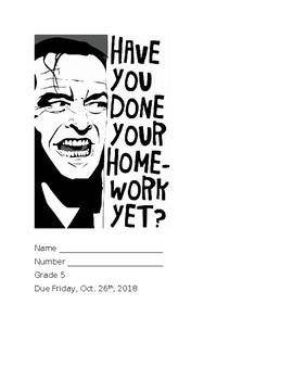 Homework Cover Sheet #2