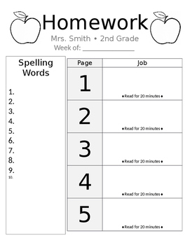 Homework Cover Sheet