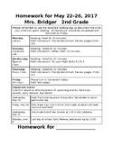 Homework Coversheet